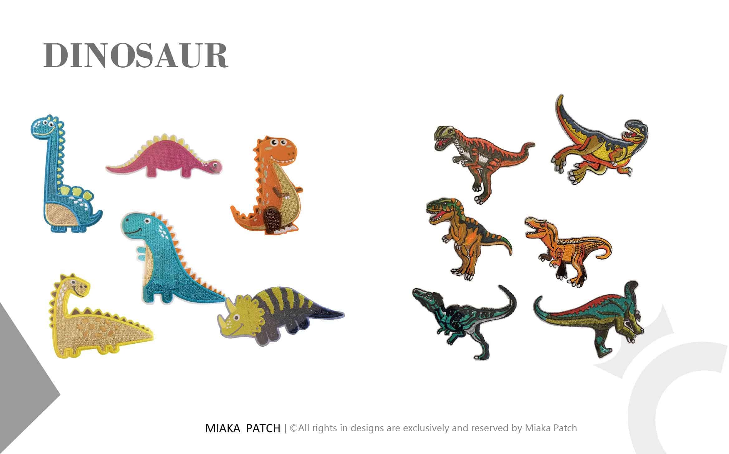 dinosaur patch